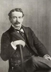 David Lloyd Georgeas a young man credit Gwynedd Archives Service